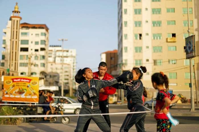 Палестинские девушки