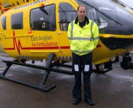 Принц Уильям разрешил вертолетам