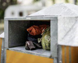 Ребенок умер, застряв в контейнере