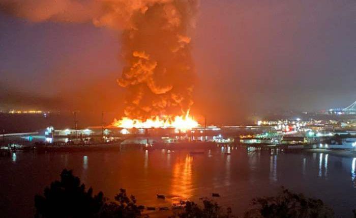 Сан-Франциско пожар