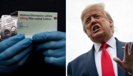 Трамп коронавирус лекарство