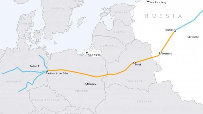 Транзит российского газа через Польшу