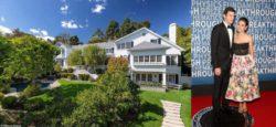 Эштон Катчер и Мила Кунис выставили на продажу свой особняк в Беверли-Хиллз за $ 13,995 млн.