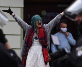 аресты протестующих против мер изоляции