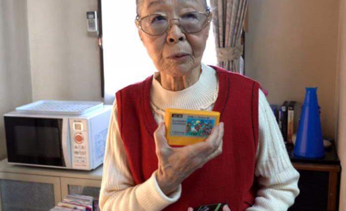 бабушка геймер