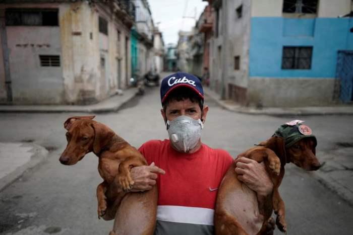в центре Гаваны, Куба