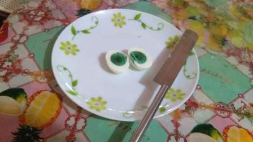 зеленый желток