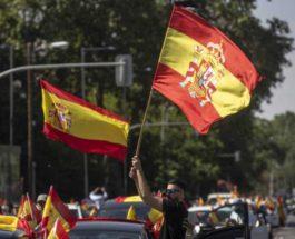 испания протесты