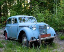 кладбище советских автомобилей