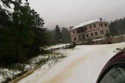 Снег в мае: северо-западная Греция покрыта снегом (ВИДЕО)