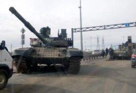 танк,упал с грузовика,Санкт-Петербург,Т-90