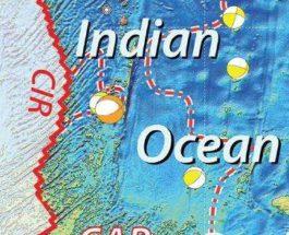 тектоническая прита индийский океан