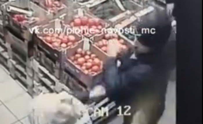 убийство в магазине