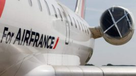 Air France,измерение температуры