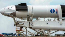 Историческая космическая миссия SpaceX и НАСА отложена (Видео прямой трансляции)