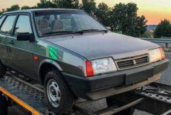 В Запорожье нашли новый ВАЗ-210 «Девятку» с пробегом 1150 километров
