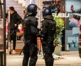 Германия,Штутгарт,протесты