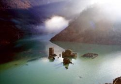 Затонувшая средневековая деревня появится из итальянского озера впервые за 26 лет