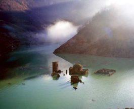 Затонувшая средневековая деревня