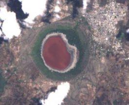 Лонар,озеро,Индия,Махараштра