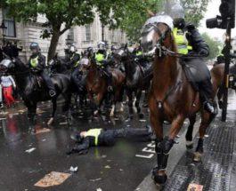 Лондон,Протесты