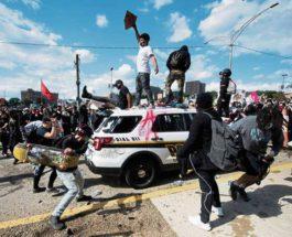 США протесты