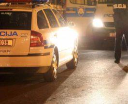 Хорватский полицейский задушил человека коленом