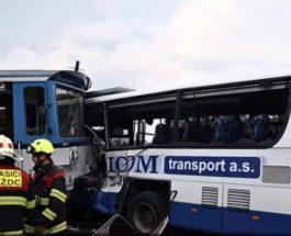 автобус и поезд чехия