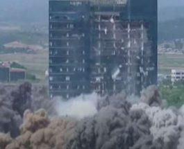 взрыв северная корея