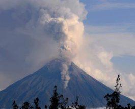 вулкан эквадор