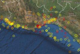 мексика землетрясение