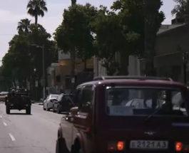 парад советских автомобилей