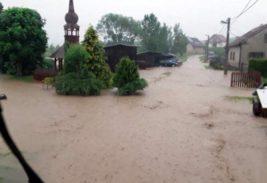 чехия наводнение