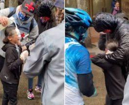 9-летняя девочка,протесты,США
