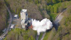 Европейское космическое агентство испытывает кислородно-метановый ракетный двигатель