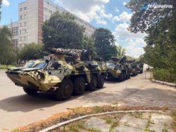 Украинская армия приняла поставку бронетранспортеров БТР-4Е