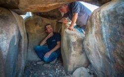 В Израиле нашли дольмен с наскальным рисунком