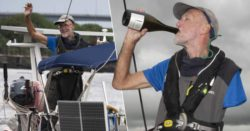 Однорукий моряк сам прошел через Атлантику за 37 дней на свадьбу дочери