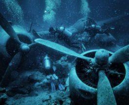 Самый большой затонувший самолет