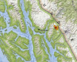 аляска землетрясение