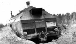 Советский таинственный колесный бункер МАЗ-543 (8х8)