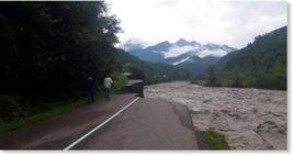 грузия наводнения