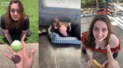 Девушка ведет себя как собачка и получает от подписчиков деньги (ФОТО 18+)