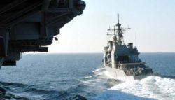 США отправляют авианосцы в Южно-Китайское море во время учений ВМС Китая