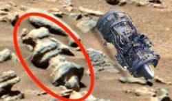 На Марсе найден реактивный двигатель