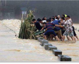 монголия наводнение