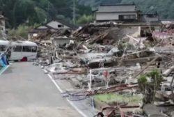 В Японии погибли десятки людей из-за наводнения