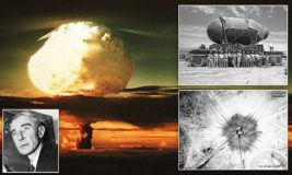 первая атомная бомба