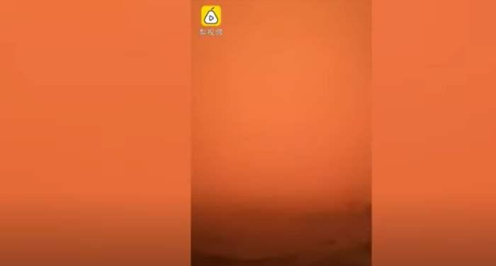 песчаная буря,Китай