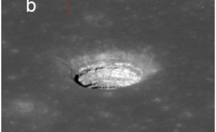 пещеры на луне и марсе